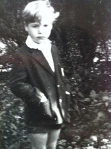 Reginald Righley-Smithe (aka Reggy Burgeron) in his school uniform